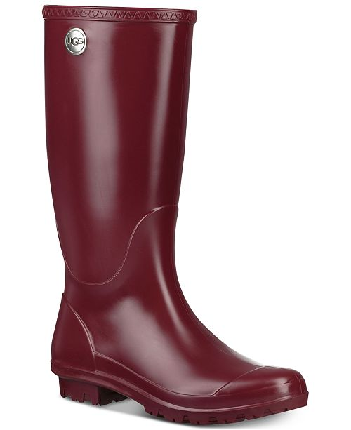 1154fa243925 UGG® Women s Shelby Matte Rain Boots   Reviews - Boots - Shoes - Macy s