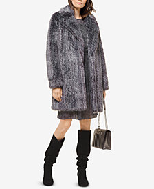 MICHAEL Michael Kors Faux-Fur Coat