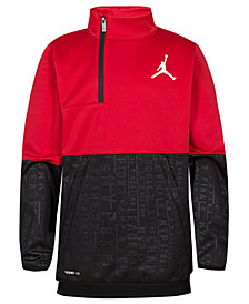 Jordan Big Boys 23 Tech Accolades Colorblocked Pullover Jacket