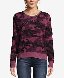 Champion Heritage Vintage-Dyed Camo-Print Fleece Sweatshirt