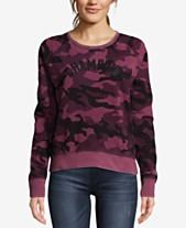 6ae5c3d6dd187 Champion Heritage Vintage-Dyed Camo-Print Fleece Sweatshirt
