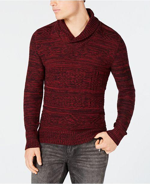 f4f7be4c47a3 ... American Rag Men s Jacquard Shawl-Collar Sweater