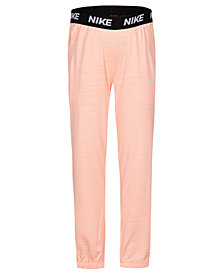 Nike Little Girls Logo-Waist Pants