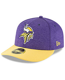 New Era Minnesota Vikings On Field Low Profile Sideline Home 59FIFTY FITTED Cap