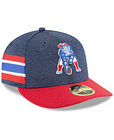 New Era New England Patriots On Field Low Profile Sideline Home 59FIFTY FITTED Cap