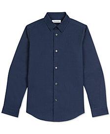 Calvin Klein Big Boys Iridescent Shirt