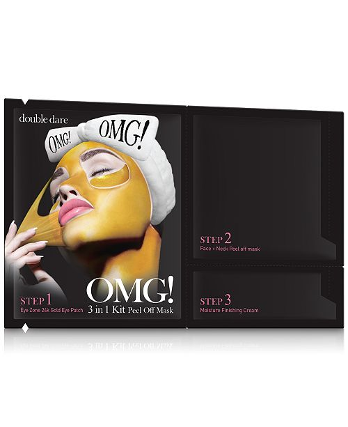 Double Dare OMG! 3-In-1 Peel Off Mask
