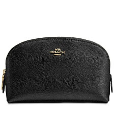 COACH Cosmetic Case in Crossgrain Leather