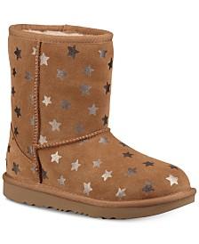 UGG® Kids' Classic Short II Stars Boots
