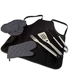 Oniva™ by Picnic Time BBQ Apron Tote Pro Grill Set