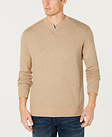 Tommy Bahama Men's Flip Side Reversible Classic Pima Cotton Sweater