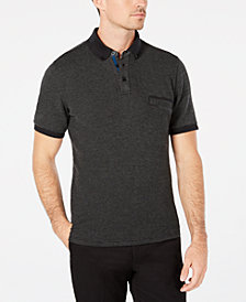 Ryan Seacrest Distinction™ Men's Textured Piqué Polo