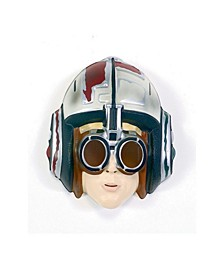 Little Boys Star Wars Anakin Skywalker Racer Pvc Mask Accessory