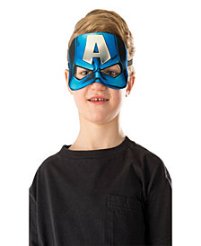 Captain America Plush Eye Mask Boys Accessory
