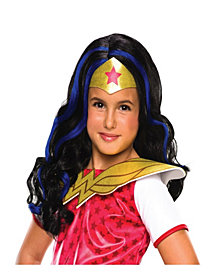 DC Superhero Girls: Wonder Woman Girls Wig