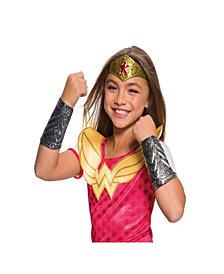 Wonder Woman Girls Costume Accessory Kit