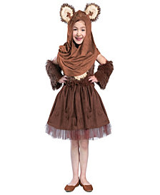 Classic Star Wars Wicket Dress Girls Costume