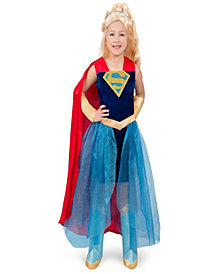 Dc Super Hero Supergirl Formal Girls Dress