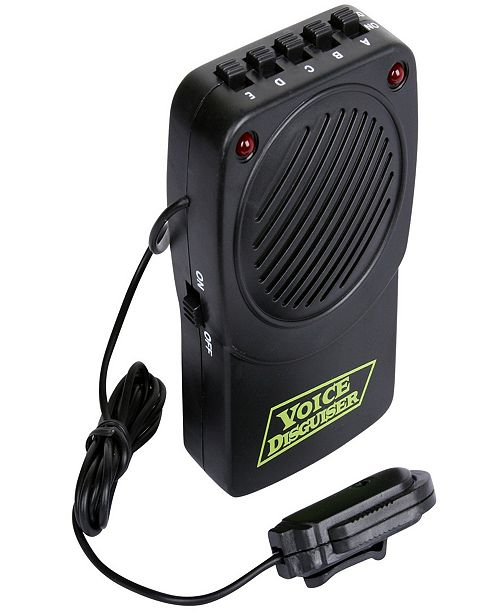 BuySeasons Big Boys Voice Changer with Microphone Kids Accessory
