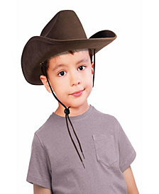 Cowboy Hat (Brown) Kids Accessory