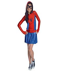Hooded Dress SpiderGirl Costume