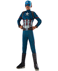 Marvels Captain America: Civil War Muscle Chest Deluxe Captain America Boys Costume