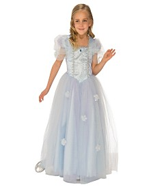 Blue Ice Princess Girls Costume