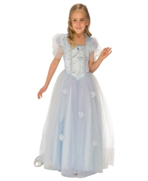 Blue Ice Princess Little and Big Girls Costume