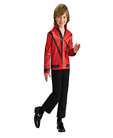 Michael Jackson Thriller Jacket Boys Costume