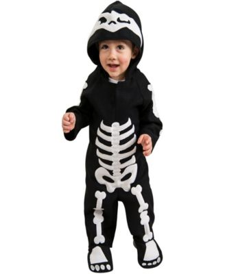 $21.99  sc 1 st  Macyu0027s & BuySeasons Baby Skeleton Baby Boys or Girls Halloween Costume - All ...