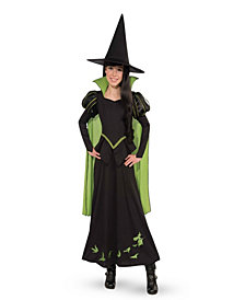 Wizard of Oz - Wicked Witch Of The West Girls Costume