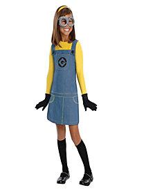 Despicable Me 2 - Female Minion Girls Costume