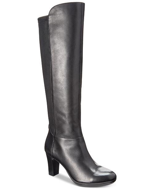 dee44ea6adb Anne Klein Sylvie iFlex Dress Boots   Reviews - Boots - Shoes - Macy s