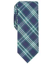 Penguin Men's Yay Plaid Skinny Tie