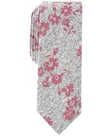 Penguin Men's Landers Floral Skinny Tie