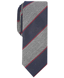 Penguin Men's Nathan Stripe Skinny Tie