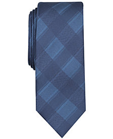 Tallia Men's Porter Check Slim Tie