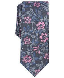 Tallia Men's Sherwood Floral Slim Tie