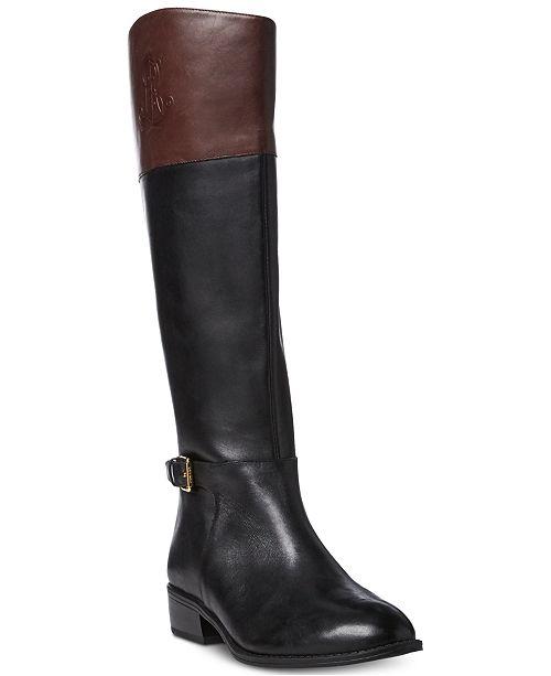 c1b1c7a49af Lauren Ralph Lauren Madisen Riding Boots & Reviews - Boots ...