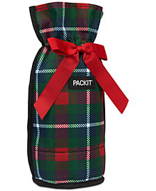 Pack It Plaid Freezable Drawstring Bag