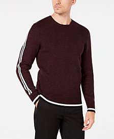 I.N.C. Men's Stripe Sweater, Created for Macy's