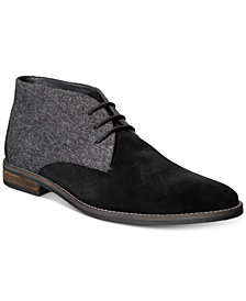 Alfani Men's Jason Wool Boots, Created for Macy's