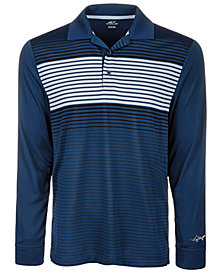Attack Life by Greg Norman Men's Ombré Stripe Performance Polo, Created for Macy's