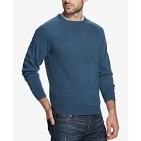 Weatherproof Vintage Mens Soft Touch Textured Raglan-Sleeve Sweater