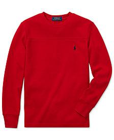 Polo Ralph Lauren Big Boys Long-Sleeve T-Shirt