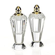 Preston Gold Salt & Pepper Shaker Pair