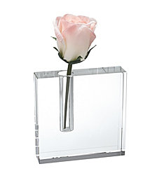Badash Crystal Block Bud Vase