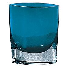 Badash Crystal Samantha Peacock Blue Vase