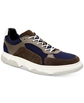 a37e4c7b8fae8 Calvin Klein Men s Penley Smooth Leather Sneakers