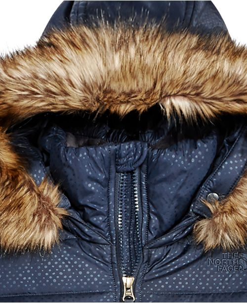37fc26652878 The North Face Gotham Hooded Down Jacket with Faux-Fur Trim